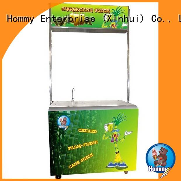 Hommy revolutionary sugar cane juicer extractor wholesale for food shop