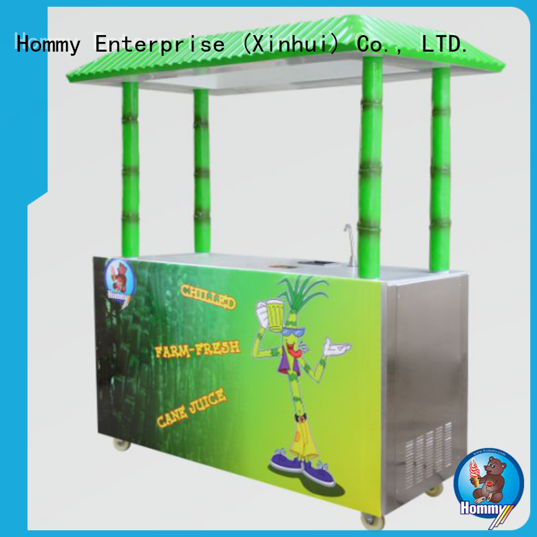 Hommy professional sugarcane extractor manufacturer for food shop