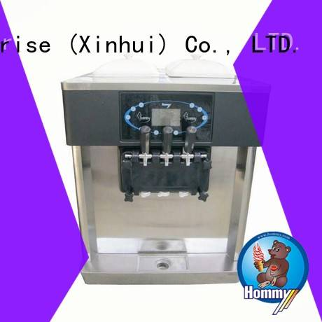 strict inspection ice cream maker machine automatic manufacturer for smoothie shops