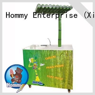 Hommy unreserved service sugarcane machine solution for food shop