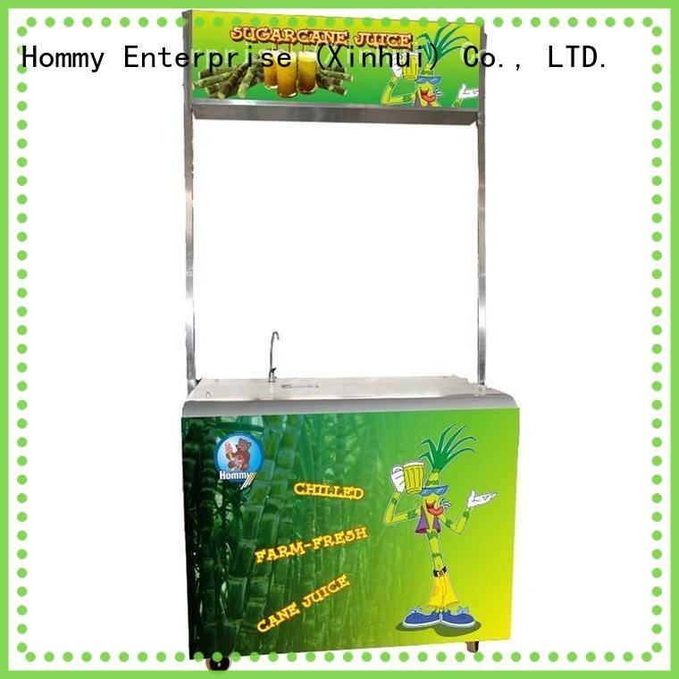 Hommy sugarcane juice extractor solution