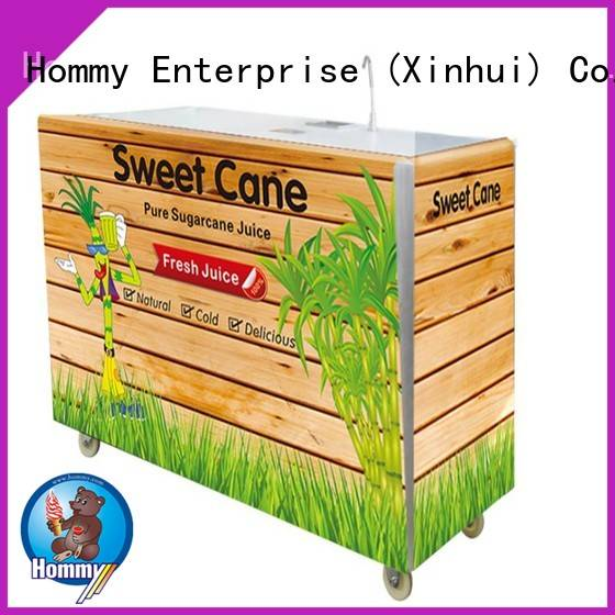 Hommy professional sugarcane extractor manufacturer for snack bar