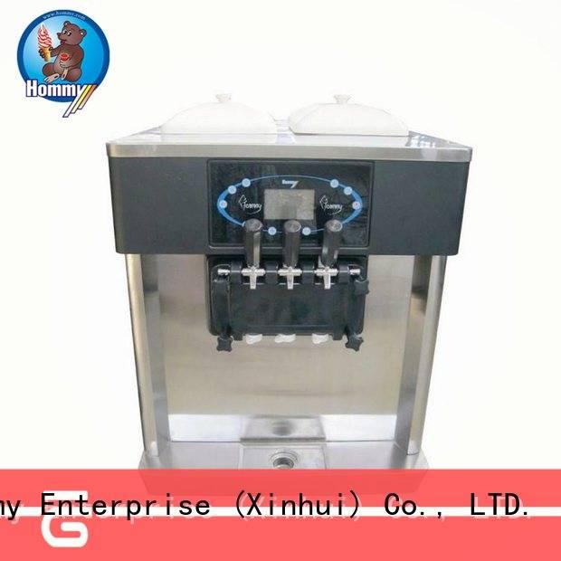Hommy hm706 ice cream machine price supplier for smoothie shops