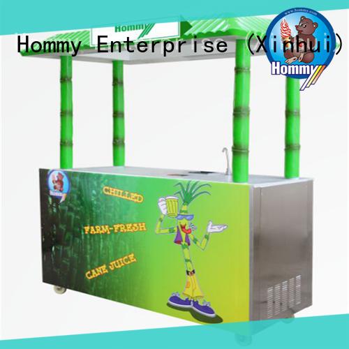 Hommy unrivaled quality sugar cane juicer machine wholesale for snack bar